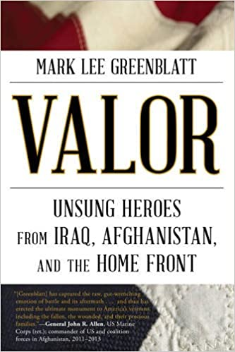 Book Valor: Unsung Heroes from Iraq, Afghanistan, and the Home Front