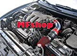 1993 1994 1995 1996 1997 Ford Probe GT Mazda MX6 626 2.5L V6 Air Intake Filter Kit System (Red Filter Accessories)