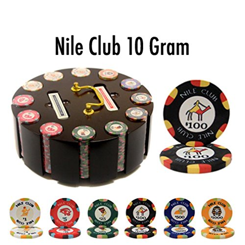 - Brybelly Holdings PCS-1202R 300 Ct - Pre-Packaged - Nile Club 10 Gram - Wooden Carousel