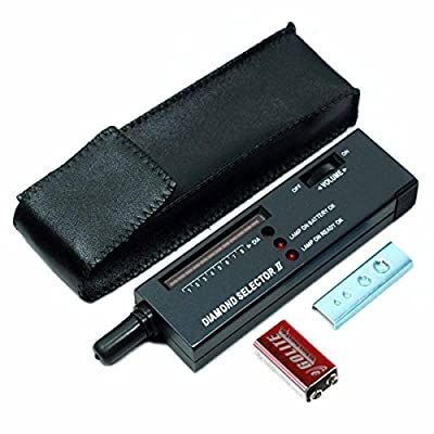 High Accuracy Professional Jeweler Diamond Tester For Novice and Expert - Diamond Selector II 9V Battery Included