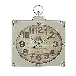 Deco 79 92227 Metal Wall Clock