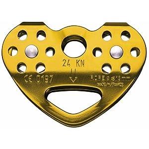 Petzl Erwachsene Seilrollen Tandem Cable, Gold, P21 CAB