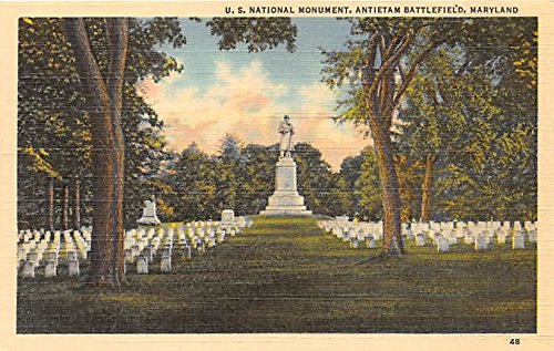 Antietam Battlefield, Maryland Postcard from Old Postcards