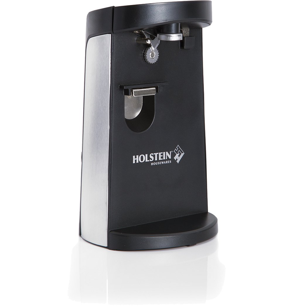 Holstein Housewares HH-0910203 Electric Can Opener - Black