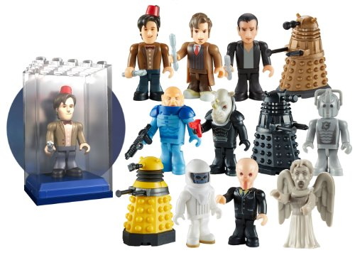 Doctor Who Character Building Micro-Figure in Display Brix
