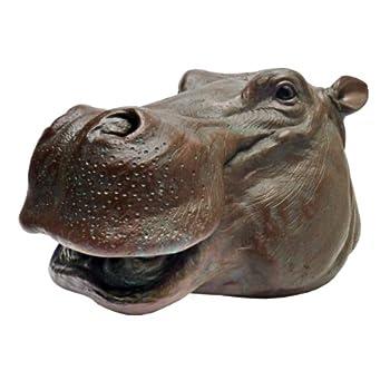Design Toscano Huey The Hippo Garden Statue