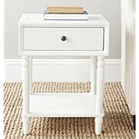 Safavieh American Homes Collection Siobhan Shady White Accent Table