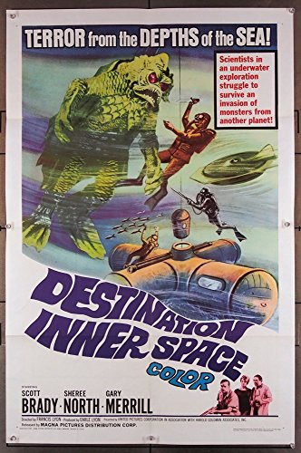 Destination Inner Space Movie Poster