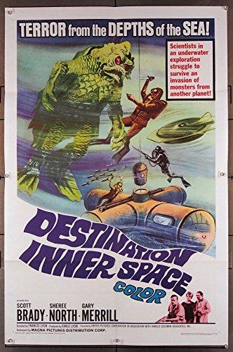 Destination Inner Space Movie Poster