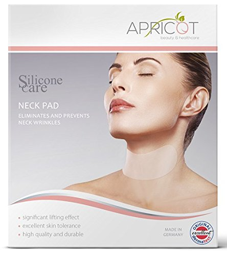 NEW on Amazon USA! BESTSELLER in Germany! Silicone care Neck Pad to eliminate and prevent neck wrinkles!