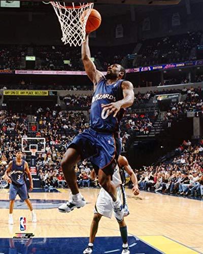 "Gilbert Arenas Washington Wizards NBA Action Photo (Size: 8"" x 10"")"