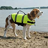 Paws Aboard Dog Life Jacket Large Yellow 50 – 90 lbs, My Pet Supplies