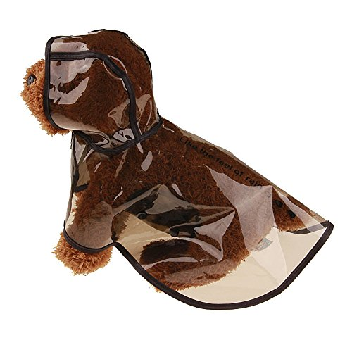 Clearance Sale! Pet Raincoat Cinsanong Puppy Pet Hooded Rainwear Dog Waterproof Jacket Clothes ()
