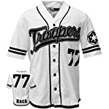 Star Wars - Mens Troopers Baseball Jersey 2x-large White