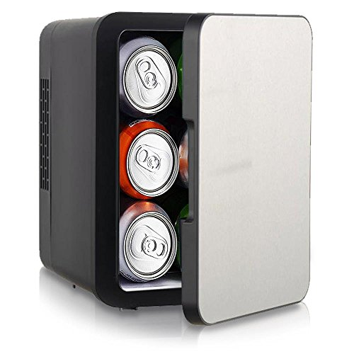 NutriChef Portable Mini Fridge - Personal Compact Electric C
