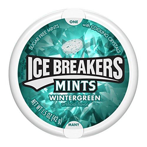 ICE BREAKERS Mints, 1.5oz, Wintergreen