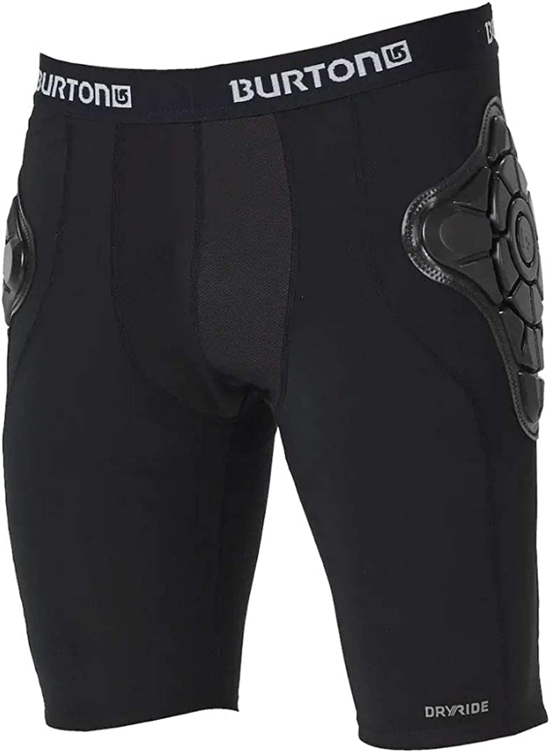 BURTON TOTAL IMPACT SHORT, PROTECTED BY G-FORM(18/19fw) 102881 ヒップガード TRUE_黒 M