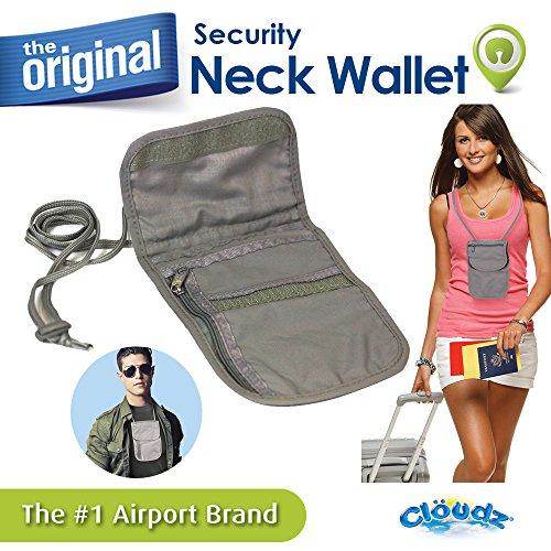 Cloudz Security Neck Wallet Pouch product image
