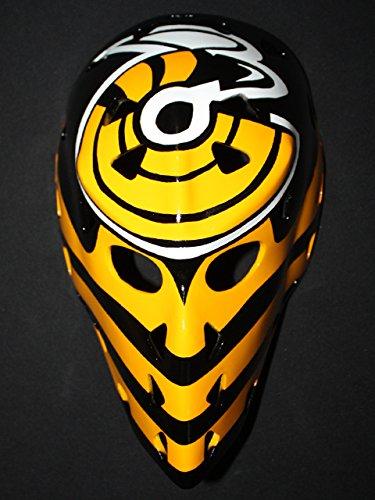 1:1 Custom Vintage Fiberglass Roller NHL Ice Hockey Goalie Mask Helmet Mike Liut HO94