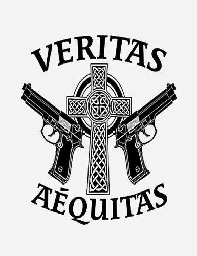 Veritas Aequitas Family Prayer Guns Rectangle Refrigerator (Family Rectangle Magnet)