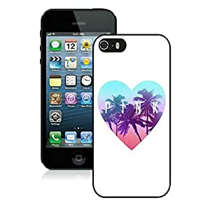 Personalized Design iPhone 5S Victoria's Secret Love Pink 16 Cell Phone Cover Case for Iphone 5s Generation Black