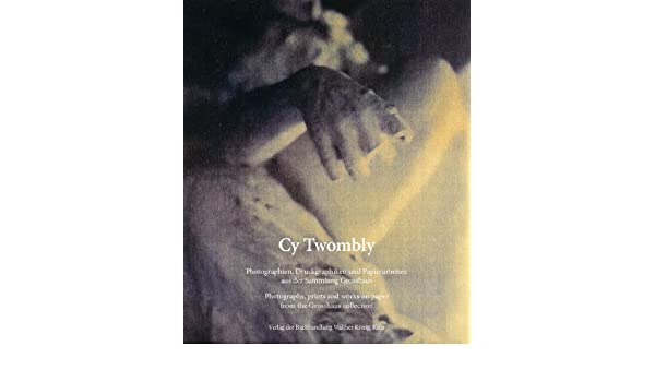 .com: cy twombly: pographs, prints and works on paper from ...