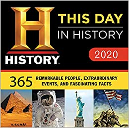 Best Historical Fiction 2020 2020 History Channel This Day in History Boxed Calendar: 365