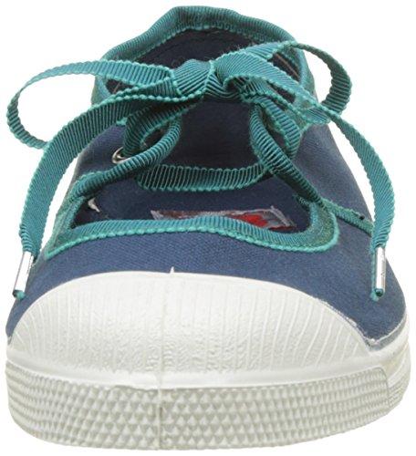 Bensimon Tennis Babies Gros Grain - Botas Mujer Azul (Bleu)