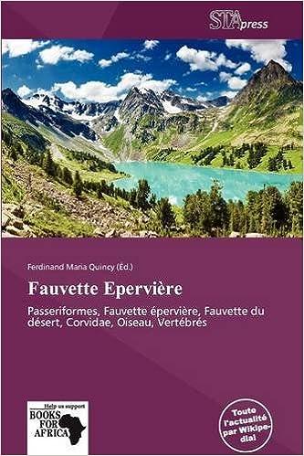 Télécharger de nouveaux livres audio Fauvette Epervi Re PDF