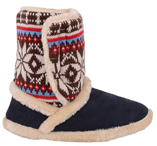 Chaussons Pour Bleu Marine Femme Absolute Footwear 1wfBn5