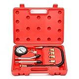 8milelake Automotive Engine Cylinders Compression Gauge Diagnostic Tester Set