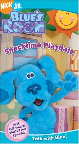 Blue's Clues - Blue's Room Snacktime Playdate [VHS]