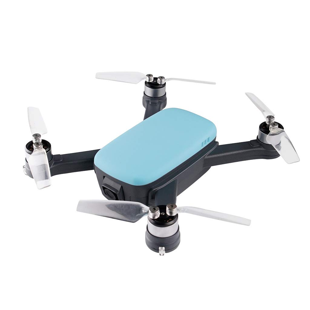 2019 New 5.8G Wifi APP RC Drone Brushless With 2.4G Wifi FPV 8.0MP 1080P HD Camera 913-GPS Quadcopter Fashion Color - by Fullwei (blue)