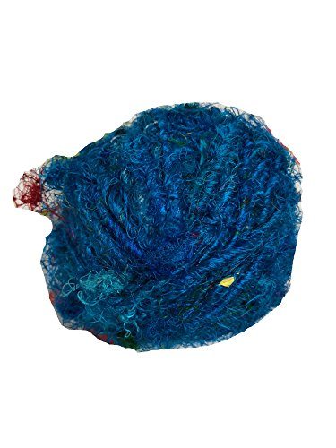 Recycled Sari Silk Super Bulky Yarn (100 Grams)