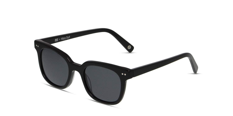 602e25e4116 Amazon.com  Muse x Hilary Duff Clara Square Women Designer Sunglasses UV  Protection Non-polarized