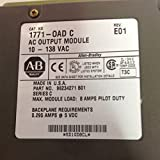 Allen-Bradley 1771-OAD C AC Output Module 10-138VAC 0.295AMPS@5VDC T16450