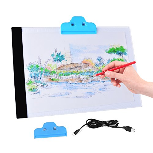 XCSOURCE LED Light Box Drawing Board Artist A4 Drawing Pad Art Display Stencil Tracing Tatto Table AH210 from XCSOURCE