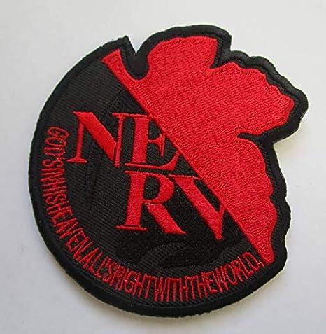 Rebuild of Evangelion NERV parche militar bordado insignias parche táctico pegatinas para ropa con gancho y bucle: Amazon.es: Juguetes y juegos