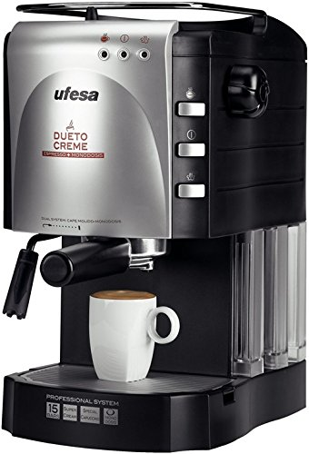 Ufesa CE7140 Dueto Creme, Negro, 1100 W, 220-240 V, 220