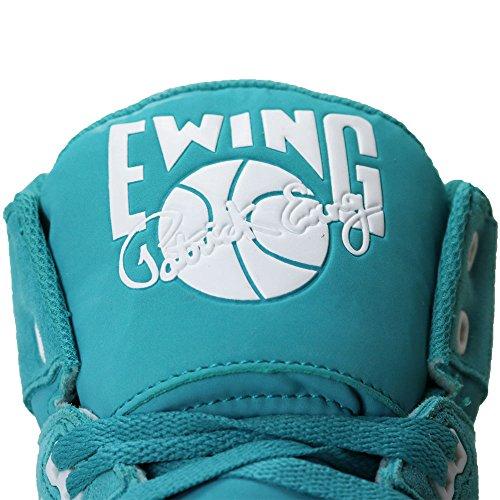 Patrick Ewing Athletics 33 Hi Zwart / Wit Speedweave 1ew90197-013 Turquoise / Wit