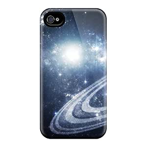 High Grade ChrismaWhilten Cases For Iphone 4/4s - Space