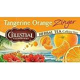 Celestial Seasonings Herbal Tea, Tangerine Orange Zinger, 20 Count (Pack of 6)