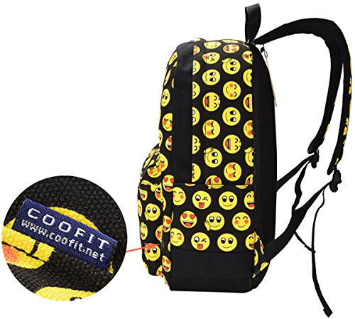 COOFIT School Backpack for Girls Canvas Backpack Laptop Backpacks for Teens by COOFIT (Image #8)