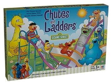 amazon sesame street chutes ladders ボードゲーム おもちゃ