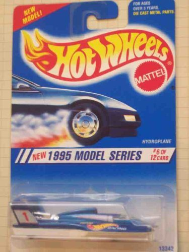 1995 # 6 Hydroplane Dark Blue 1995 Nuevos modelos Mint # 346