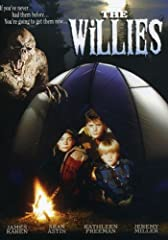 Boys on a camping trip tell whoppers about a chicken-fried rat, huge flies, a bathroom monster.