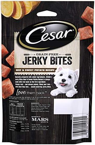 Cesar Meaty and Jerky Dog Treats 3
