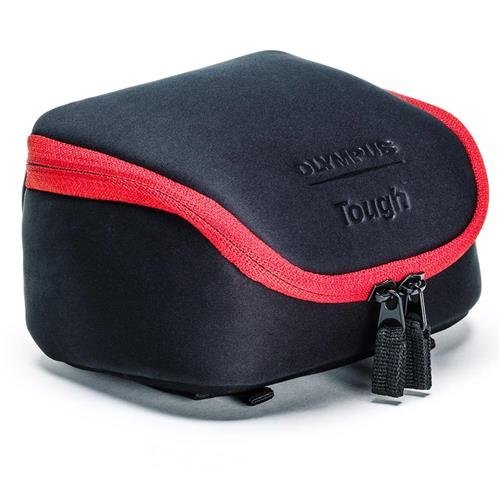 Olympus Tough System Bag for Cameras - Black with Red Trim (Olympus E-system Cameras)
