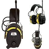 Digital AM FM MP3 Radio Headphones Hearing Protection Ear Muffs