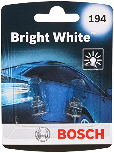 Bosch 194 Bright White Upgrade Minature Bulb, Pack of 2